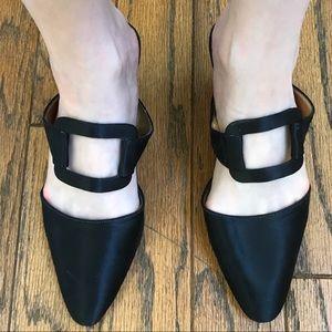 Vintage 90s heels vintage black heels buckles